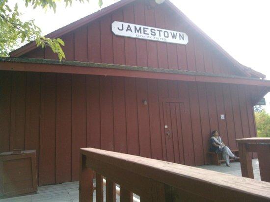 Railtown 1897 State Historic Park : Jamestown Station