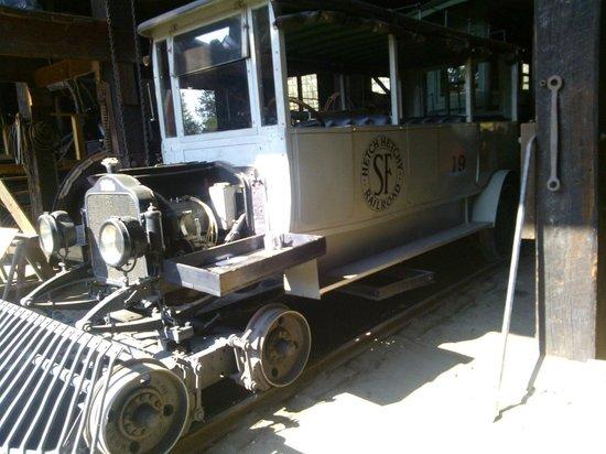 Railtown 1897 State Historic Park : A Railroad coach