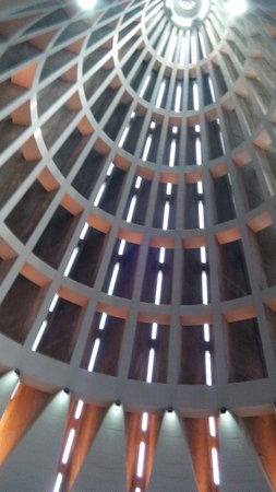 Santuario Madonna delle Lacrime : Particolare della volta.
