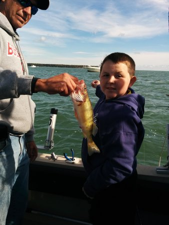 27 inch walleye picture of fish on charters port for Port clinton fishing charters