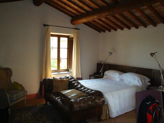 Castel Monastero: 部屋