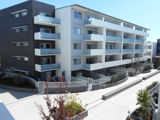 Abode Tuggeranong: View from the balcony