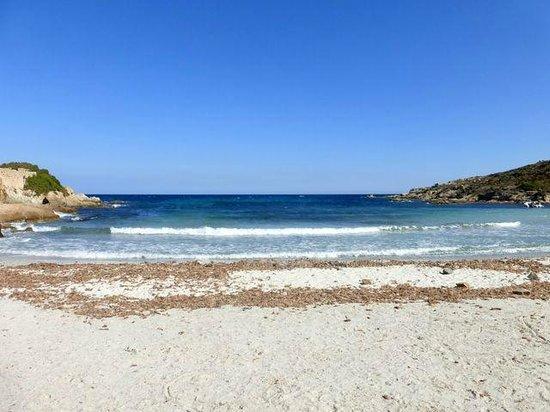 Mar A Beach : spiaggia davanti al ristorante