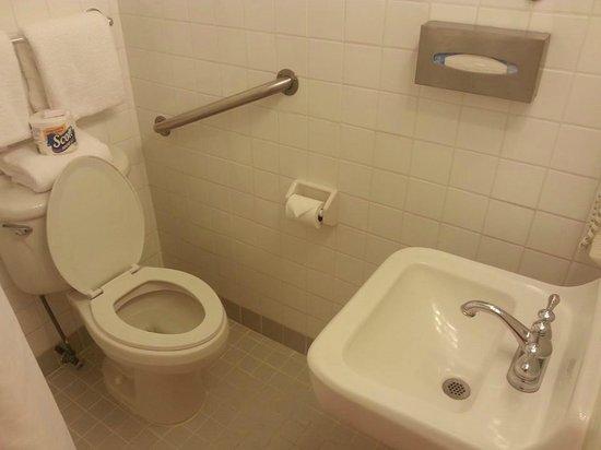 Hotel Melia Ponce: Clean bathroom