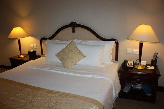 C&D Hotel Xiamen: Bra säng