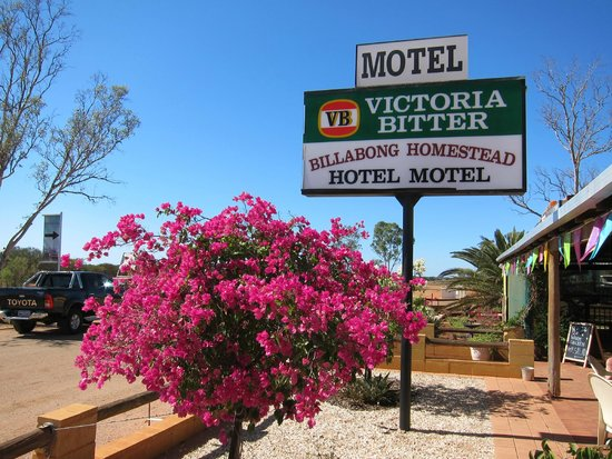 Billabong Homestead Hotel Motel: logo