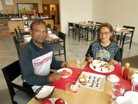 The Gateway Hotel EM Bypass: Both of us are dinning