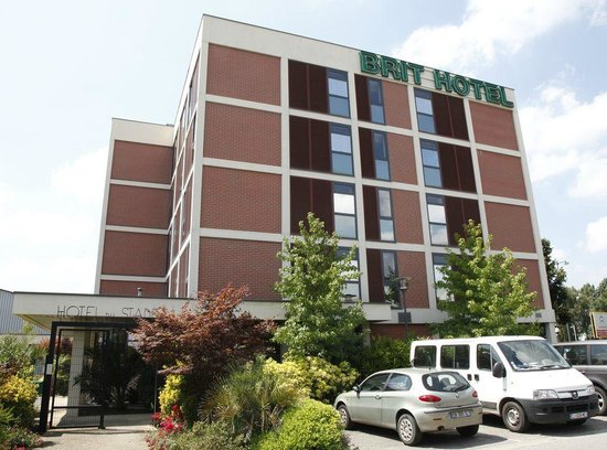 Brit hotel du stade updated 2017 reviews price for Hotels rennes