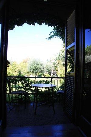 Villa Giada: Blick in den Garten