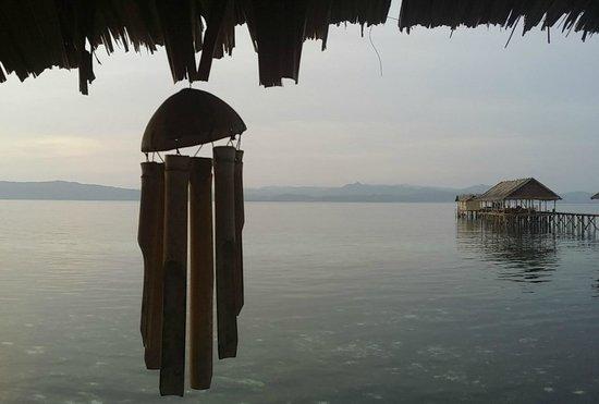 Kri Eco Resort: View from Restaurant at Kri