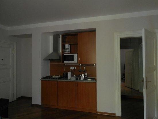 Residence Masna - Prague City Apartments : Coin cuisine