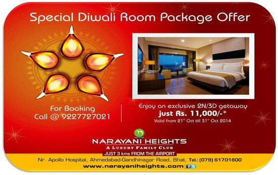 Narayani Heights: Diwali Special Package