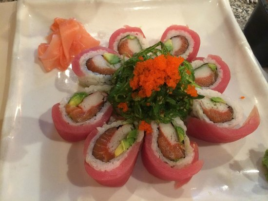 Sushi Boat Town: Red Lady Roll