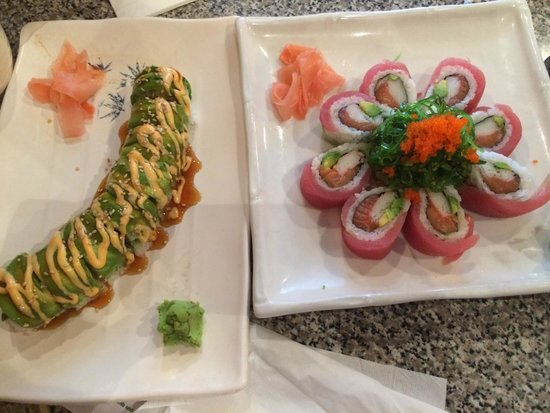 Sushi Boat Town: Caterpillar Roll & Red Lady Roll