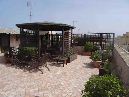 Domus Mariae : La terrasse du dernier étage