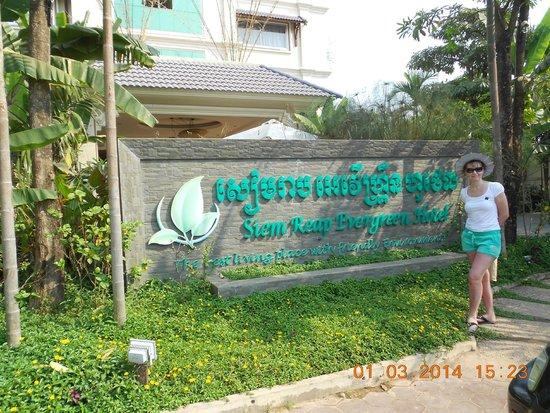Siem Reap Evergreen Hotel: название отеля