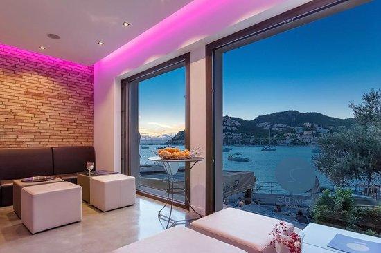 Romeos: Auch in der kühleren Jahreszeit gemütlich - die Lounge-Bar in der ersten Etage