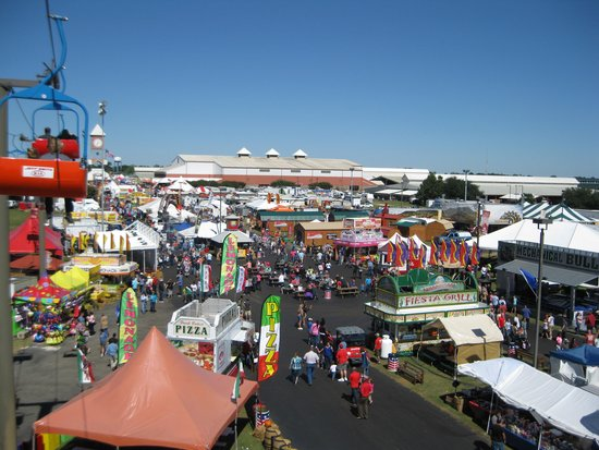 Georgia National Fairgrounds & Agricenter: Aerial view from Agri-lift (sky lift)