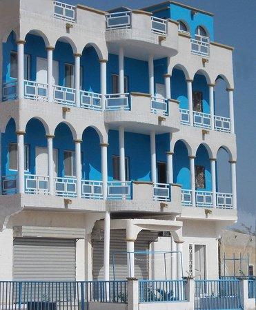 Façade Hotel Mauritour Rosso Mauritanie