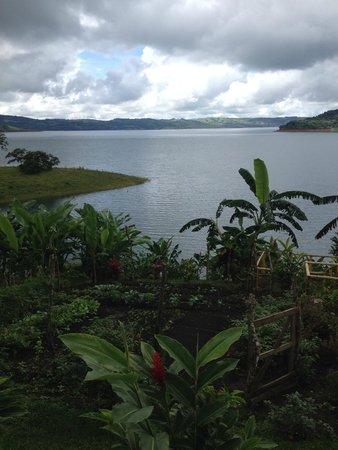 Tinajas Arenal: Amazing lake views
