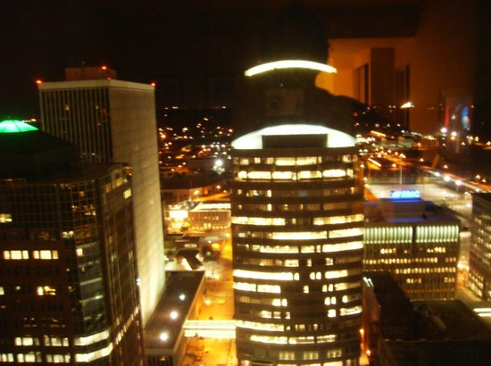 Des Moines Marriott Downtown View From My 32 Floor Room