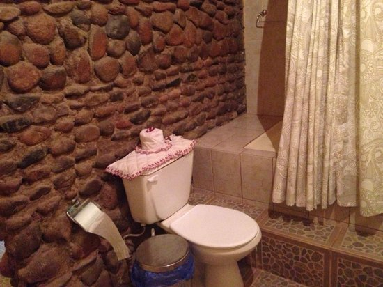 Rey Lagarto Hostel: Baño