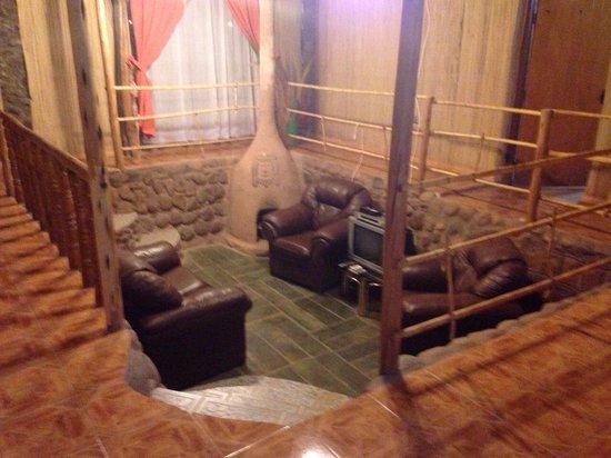Rey Lagarto Hostel: Area común