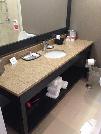 Ramada St. John's: Bathroom Vanity
