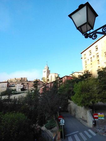 Meson Del Gallo: Uitzicht vanaf kamer 104