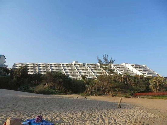La Cote d'Azur: View from the beach