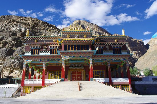 Sakya Tangyud Monastery in Kaza, Spiti-Valley, Himachal Pradesh, India