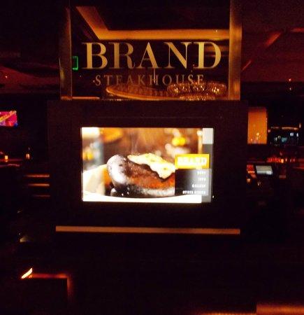 Brand Steakhouse: Electronic Menu Board