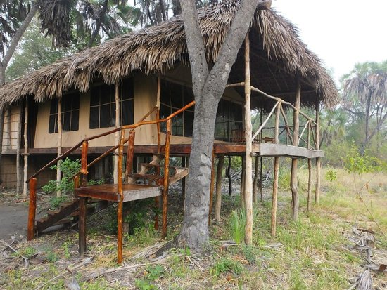 Selous Great Water Lodge: Perfect peace.