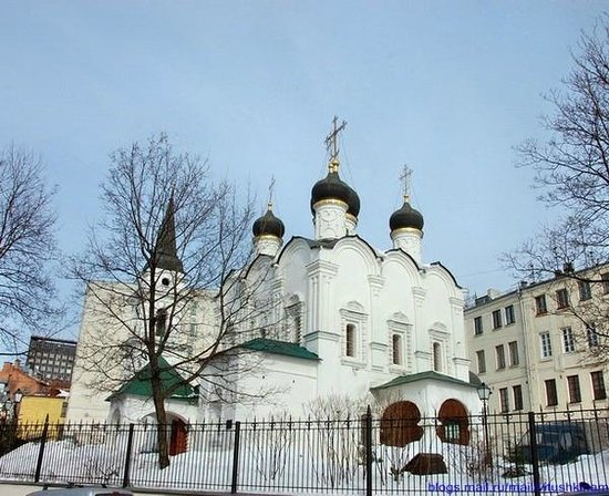 St Vladimir's Church in Staryh Sadekh