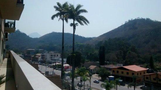 Granja Brasil Resort: Vista Varanda do Restaurante