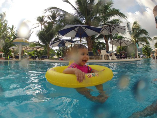 La Quinta Gran Bahia Cuastecomates: kids are happy