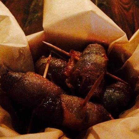 The Pantry: Bacon Wrapped Dates, happy bombs!
