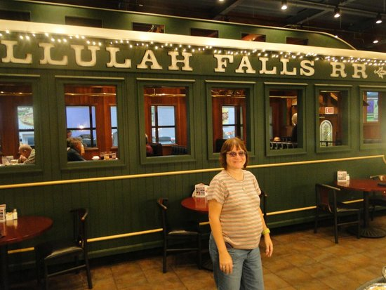 The Boiler Room Steak House: dining car