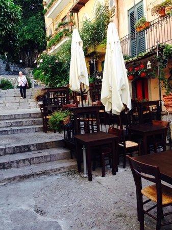 La Tavernetta early in the day
