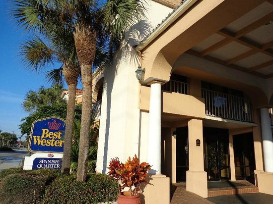 BEST WESTERN Spanish Quarter Inn: fachada