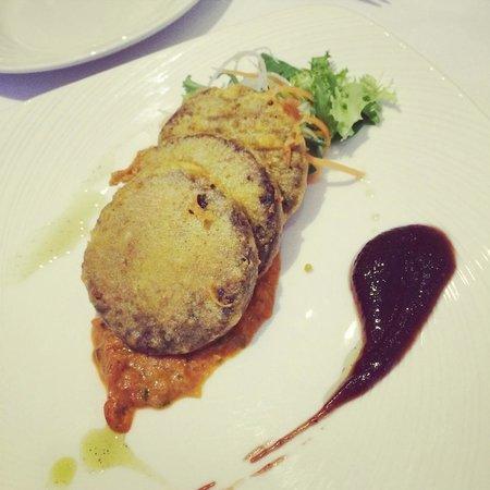 Everest Inn: Haggis Pakora,scotish food vs Nepalese receips