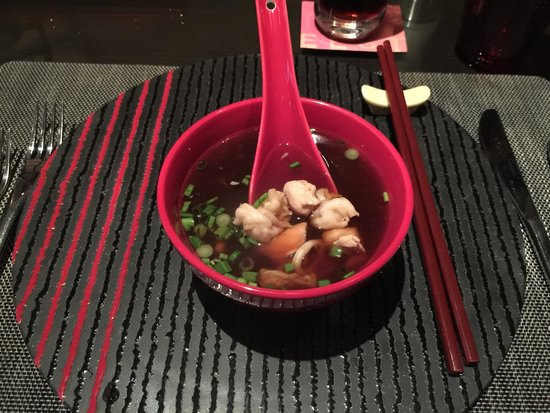 EEST - The Westin Gurgaon: Yosenabe Soup EEST version.  Far from what you will find in real japanese restaurant.