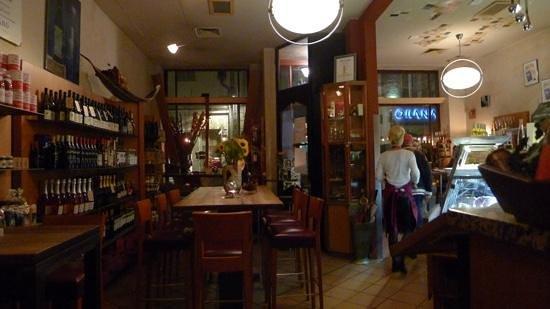 Miera: stemningsbillede fra restauranten