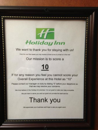 Holiday Inn San Antonio Downtown Market Square : Most Ironic Sign Ever