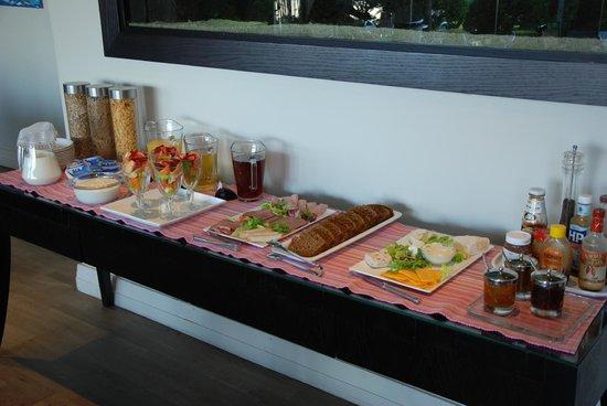 Atlantic House: Frühstücksbüffet