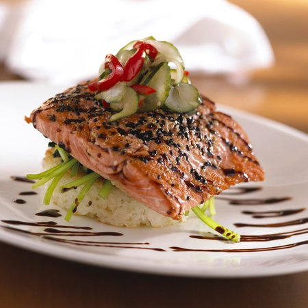 Food Dance: Sesame Ginger Salmon