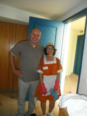 Amathus Beach Hotel Rhodes: the lovely cleaner of the bungalows