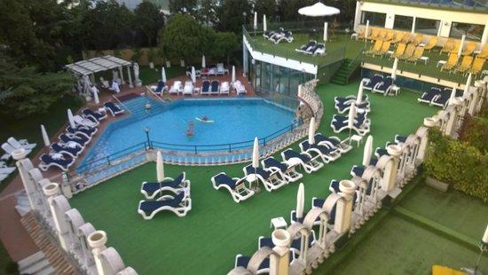 Olympia Terme Hotel: Piscina esterna