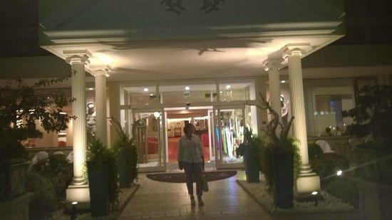 Olympia Terme Hotel : Ingresso