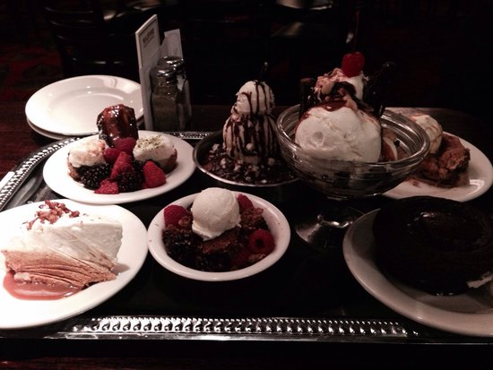 Wildfire: Chegou a melhor hora, escolha da sobremesa, são incríveis e eu escolhi o variado de três tipos d